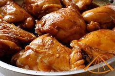 Ga Kho Gung - Caramel Ginger Chicken