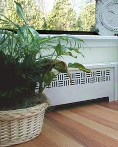 covers baseboard heaters to make them look and work better so cool you can