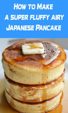 This Japanese Pancake is a new level of recipes making. Once your taste, you'l… This Japanese Pancake is a new level of recipes making. Once your taste, you'll find yourself lost inside its amazing taste and flavor. Gourmet Recipes, Brunch Recipes, Dessert Recipes, Cooking Recipes, Healthy Recipes, Brunch Menu, Cooking Rice, Breakfast And Brunch, Breakfast Dishes