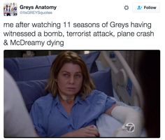 Grey's Day is the best and worst day of the week.