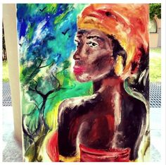 Looks of Africa! The colors of the earth! One love!!  Artista Michele Tribuzio