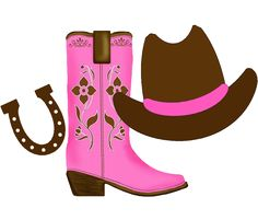 Clip Art Cowgirl Clip Art clip art and google on pinterest cowgirl clipart with space the right for each team member to share