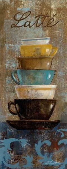 Antique Coffee Cups II (Silvia Vassileva)