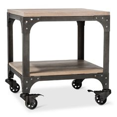 Franklin Coffee Table Weathered Gray The Industrial Shop Target - Target franklin coffee table