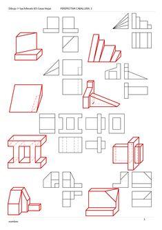 58 Ideas De Tecnoinformatica Técnicas De Dibujo Vistas Dibujo Tecnico Dibujo Tecnico Ejercicios