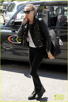 Cara Delevingne Emerges After Photos Surface of Her Ex Michelle Rodriguez Kissing Zac Efron