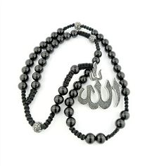 This Shamballa Allah charm Muslim rosary is absolutely gorgeous! Be proud using these Misbaha 99 prayer beads during your daily spiritual practice!  Allah Lovers Jewelry brings you beautiful spiritual Muslim, Middle Eastern jewelry pieces to cherish for a lifetime and show your faith in style. Our Misbaha Prayer Beads Collection includes gorgeous prayer beads in many different colors, shapes and materials including gemstones and precious metals that will suit your taste and specific style.