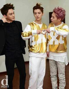Chen, Luhan & Xiumin