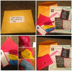 """""""Open When..."""" Letter Ideas! Loved making these! #mg #openwhen #missionarygirlfriend #missionaryideas"""