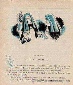 EL CUADERNO DE CELIA (PRIMERA COMUNIÓN). ELENA FORTÚN. CON CENSURA ECLESIÁSTICA. ED. AGUILAR, 1955