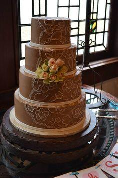 Bridal cake - Old Glory Ranch