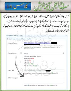 SEO Course in Urdu (WordPress SEO-Post & Plugin) Class 16 | King Learner