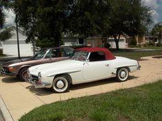1962 Mercedes Benz 190SL For Sale @ Californiacar.com