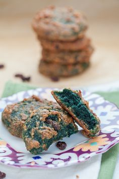 Cinnamon Raisin 'Oat'Meal Cookies for St. Paddy's Day- by Against All Grain (Egg, Nut, Gluten, Grain FREE)