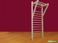 Set (Swedish Ladder +wood pull up bar, Product code 272-swedish ladder