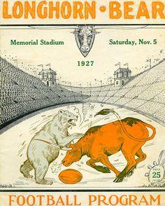 Baylor vs. Texas via 1927