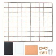 Rose Gold Wall Grid Panel Display Wire Wall Grid Wire Notice Board Memo Board 651721447263 | eBay