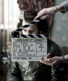 Depp actually looks great as sweeney Todd