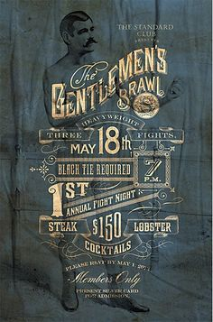 Bohan Advertising's identity for The The Standard club & restaurant in Nashville recalls the building's 1840s history. #identity #branding #history