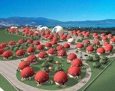 Mushroom Village, Akbuk Bay, Turkey - Pixdaus