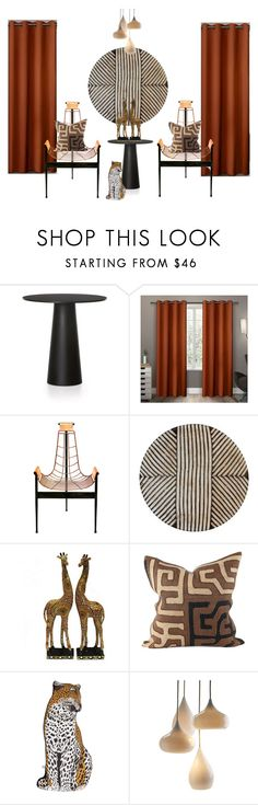 """""""sophirema window display D1"""" by binderiya-bayarsaikhan on Polyvore featuring interior, interiors, interior design, home, home decor, interior decorating, Moooi, Exclusive Home, Silken Favours and Design Within Reach"""