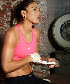 Hope Solo. Olympic obsession has officially begun. Beware pinners....