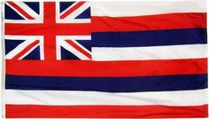 Hawaii State Flag, 3' x 5'
