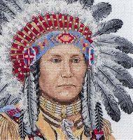 Kits Broderie Point De Croix : Par Createurs, Kits Point De Croix,Native American Indian, Kits Point De Croix Maïa