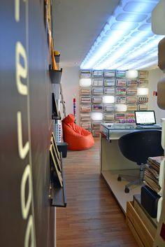 Ikea Trofast box storage and lighting - mommo design: MOMMO DESIGN STUDIO