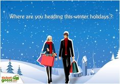 Where are you planning to travel for this winter season? share with TicketGoose.com