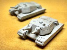 Kim Gu-Nong's Steel Cauldron: [OGRE-Future Tank Warfare-] Combine `Alamo` Super Heavy Tank.