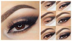 Fashion makeup til brune øjne: alle hemmelighederne! (120 billeder) | beautysummary