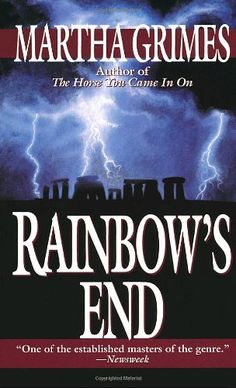 Rainbow's End by Martha Grimes http://www.amazon.com/dp/0345394267/ref=cm_sw_r_pi_dp_lRwyvb1J3CCGJ