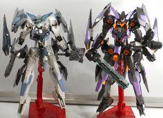 Mecha Toys: Sneak Peek: Kotobukiya Frame Arms Baselard and Zelfikar, Modified