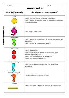 Como ensinar pontuação - Atividades Adriana