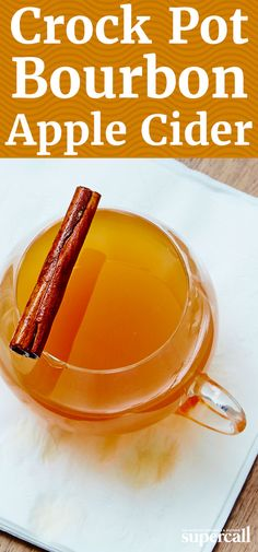 Though sipping fresh apple cider right from the jug is tempting, this bourbon-spiked slow cooker recipe is nearly as easy—and worth the wait. Spices and citrus give it an autumnal kick, while bourbon's caramel and vanilla flavors tie the whole shebang together.