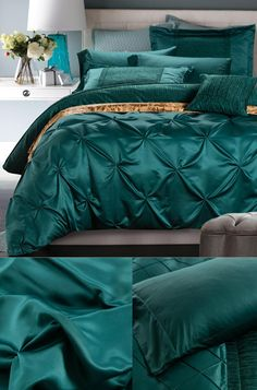 Quilt Cover Set New Robin Chevron Print 2pc Doona Pastel Green Single Bed
