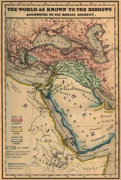 Map Of Syria In Biblical Times Bible Maps Food Pinterest - Map of egypt in bible times