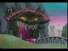 Dragones y Mazmorras #intro (Dibujos Animados)