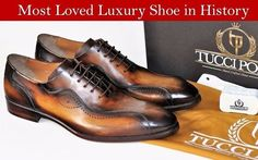 TucciPolo helps men everywhere dress their best. Shop TucciPolo handmade Italian leather luxury dress shoes for men. #ItalianLeatherShoes