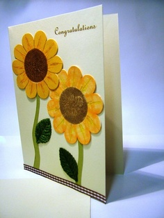 This is a hand crafted greeting card made by @Masha Podgurskaya Creations.