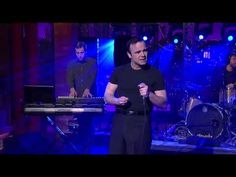 """Future Islands - """"Seasons"""" on Late Night with Letterman 3/3/14 - not entirely sure what to make of this, but I think I like it!"""