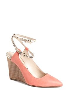 These are perfect summer wedges - never too early to start shopping for the summer