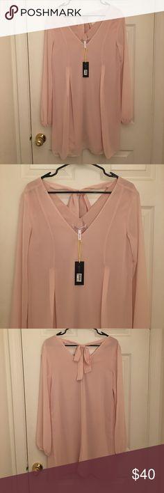 NWT BCBG light pink dress NWT BCBG light pink dress BCBGeneration Dresses