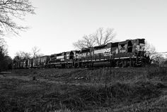 Norfolk Southern Rock Hill to Catawba, South Carolina turn is just a hakf mile from the old Bowater plant in Catawba with two high short hood on lead. High Iron, Rock Hill, Railroad Photography, Norfolk Southern, Locomotive, South Carolina, Joseph, Past, Old Things