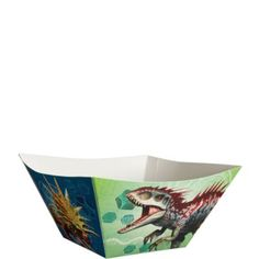 Jurassic World Serving Bowls feature dinosaurs printed on them. Fill them with your favorite party foods and set them out on the buffet table for guests to enjoy during the party! Dinosaur Birthday Cakes, Lego Birthday, Birthday Ideas, Halloween Costume Shop, Halloween Costumes For Kids, Jurassic World Cake, Birthday Party Treats, Kids Party Supplies, Serving Bowls