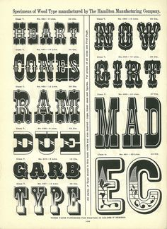 A Treasury of Wood Type Online   News, Notes & Observations   H&FJ