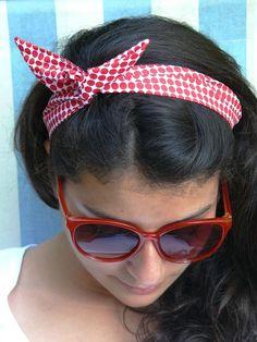 Tuto: le headband des vacances