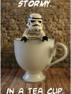 Stormy in a tea cup