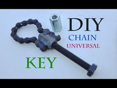 How to Make a Chain Universal Key /Amazing idea DIY - YouTube